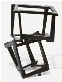 Artwork by Jedd Novatt, Untitled, Made of Bronze with black patina.