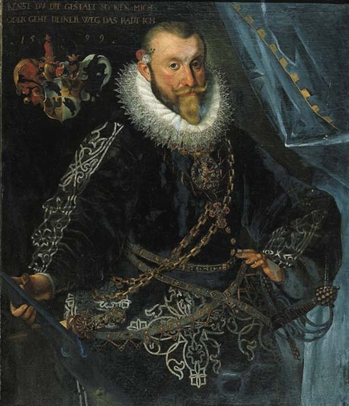 Joseph heintz theelder portrait of andreas rindscheit zu for Andreas heintz
