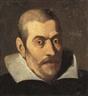 Francisco Pacheco, Portrait d'homme en buste, à la collerette blanche