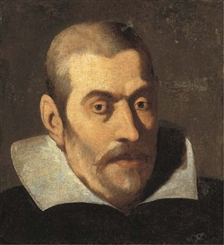 Artwork by Francisco Pacheco, Portrait d'homme en buste, à la collerette blanche