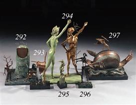 Artwork by Salvador Dalí, La Vision de l'Ange