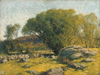 Cape Ann Pastureland By Frederick J. Mulhaupt