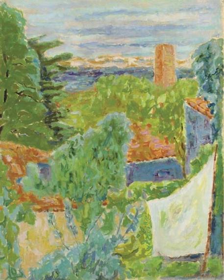Jean jules louis cavaill s jardin albi 1948 mutualart for Jardin 4 saisons albi