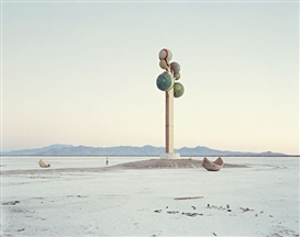 Artwork by Nadav Kander, Monument, Utah, USA from God's Country, 1995, Made of Colour coupler print, printed 2009.