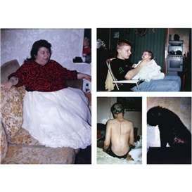 Artwork by Richard Billingham, Untitled (5), Made of each: colour coupler print mounted on aluminium