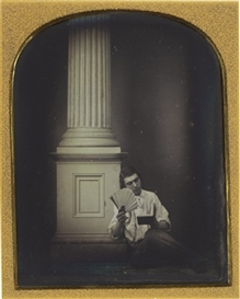 Artwork by Marcus Aurelius Root, Anthony Pritchard, c. 1850, Made of quarter-plate daguerreotype