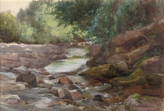 A Trout Stream By Mildred Anne Butler