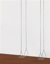 Mona Hatoum, A Couple (of Swings)