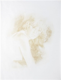 Artwork by Carol Bove, Christine, Made of Ink on transparentized vellum