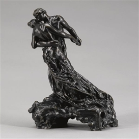 Artwork by Camille Claudel, LA VALSE (DEUXIÈME VERSION), 1895, Made of Bronze, cast 1905
