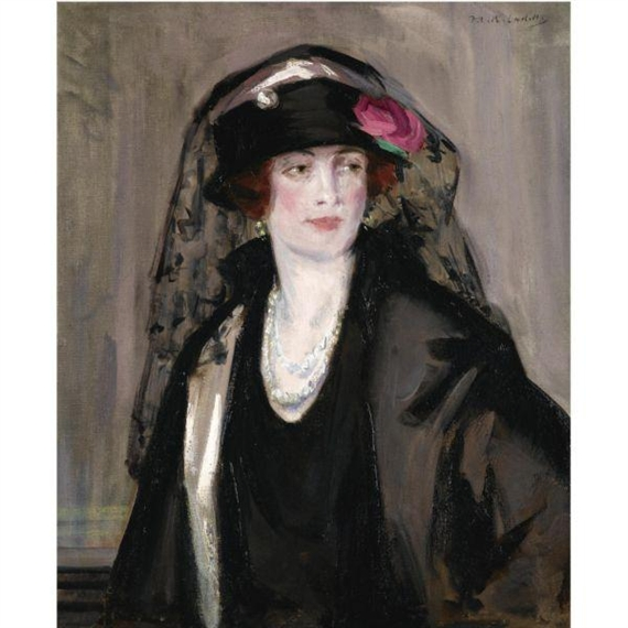 analysis of lady in black by francis cadell essay His father was francis cadell, an edinburgh surgeon and his mother was mary  boileau, a lady of  portrait of a lady in black by francis cadell.