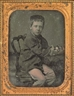 Marcus Aurelius Root, Boy with Cat, 10 July 1855