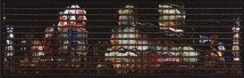 Artwork by Thomas Kellner, New York, Times Square at Night, Made of Color coupler print