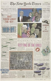 Artwork by Nancy Chunn, The New York Times, May 8, 1996, Made of Lithograph in colors