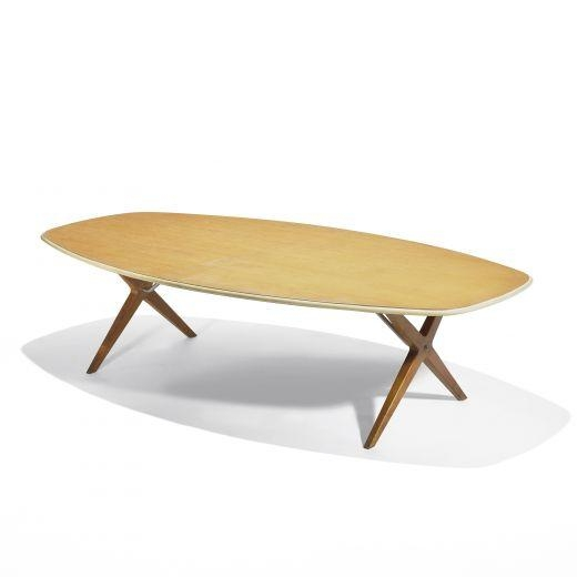 George Nelson Coffee Table Model 5255 1956