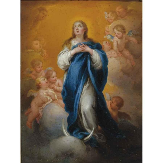 an analysis of the virgin of immaculate conception an oil painting by edgar aguirre The immaculate conception (of the escorial) bartolome esteban murillo painted 'the immaculate conception (of the escorial)' in 1678 with oil on canvas as part of a series of multiple artworks to be created for the hospital of the venerable priests of seville.