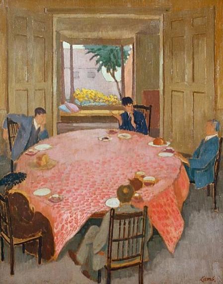 Henry Lamb, 'The tea party'