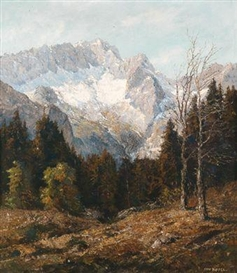 Otto Pippel, Spring on the Zugspitze