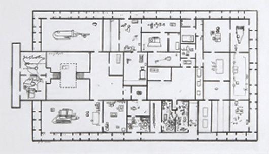Mark manders provisional floor plan self for Self build floor plans