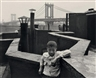 Walter Rosenblum, Boy on Roof, Lower East Side, New York, 1950