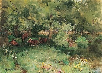 a summer's day By Mildred Anne Butler