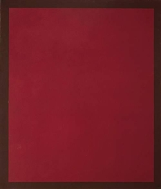 Peter Joseph, Magenta with Brown Border; Past Traces Chart