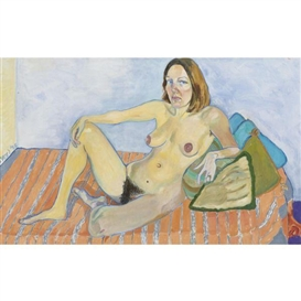 Alice Neel, PORTRAIT OF LOUISE LIEBER, NUDE