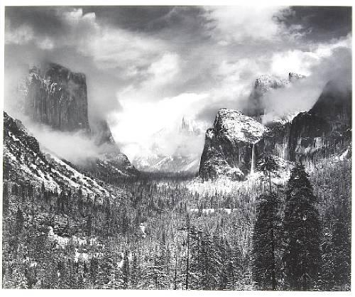 Adams Ansel | Clearing Winter Storm, Yosemite National ...Ansel Adams Clearing Winter Storm