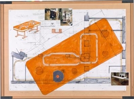 Hans Schabus, Drawing Board No. 27 ... Layout