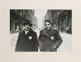 Artwork by Yevgeny Khaldei, Budapest Ghetto, Made of Gelatin silver print