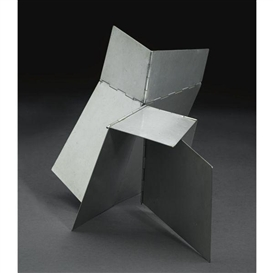 Artwork by Lygia Clark, ANIMAL (BICHO), Made of metal