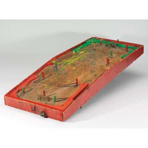 Vintage Table Hockey Game
