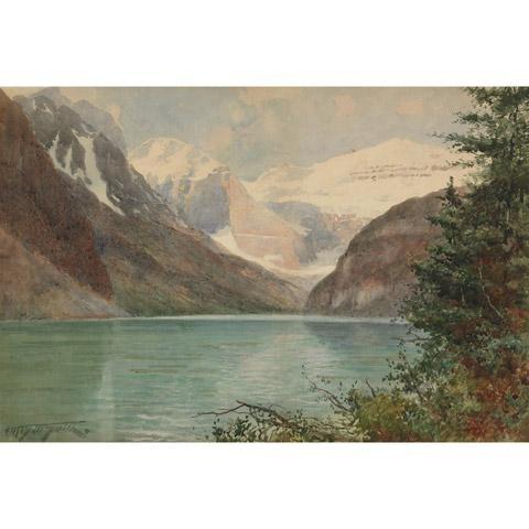 Frederic Marlett Bell Smith Lake Louise