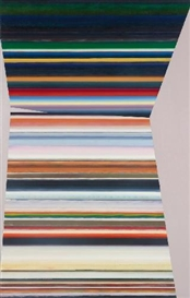Artwork by Olaf Holzapfel, UNTITLED (HALF PIPE), Made of Oil on canvas