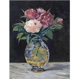 Artwork by Édouard Manet, BOUQUET DE PIVOINES, Made of oil on canvas