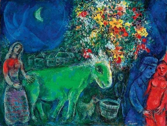 Marc chagall les amoureux de saint paul de vence for Chagall st paul de vence
