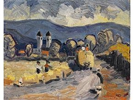 Walther Bötticher, Village Harvest Workers