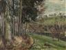 Carl Theodor Meyer-Basel, Waldrand in einer Hügellandschaft