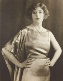 Artwork by Strauss Peyton, Portrait of Fanny Brice, ca. 1926, Made of Gelatin silver print