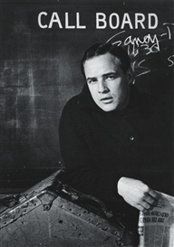 Artwork by Sanford Roth, Marlon Brando, 1950s, Made of Gelatin silver print