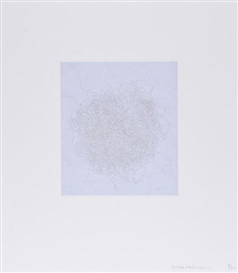 Mona Hatoum, Hair there and Everywhere: portfolio of 10 etchings