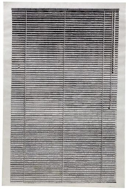 Artwork by Marcel Odenbach, Blind I, Made of paper collage on paper