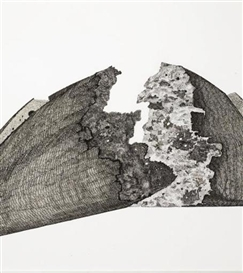 Artwork by Pablo Serrano, Pain populaire, Made of INK ON PAPER