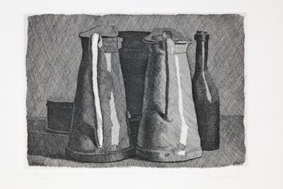 'Natura morta con cinque oggetti' - Giorgio Morandi