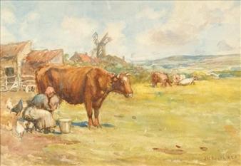 Artworks Of James William Booth British 1867 1953