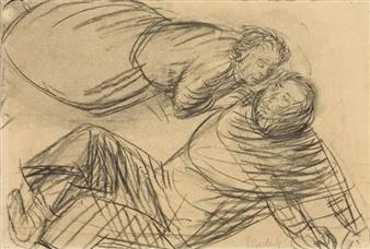 """EINGEBUNG"" By Ernst Barlach ,1912"