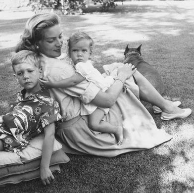 Lauren Bacall And Children