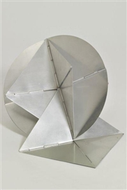 Artwork by Lygia Clark, Bicho, Made of Aluminium
