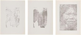 Artwork by Waldemar Cordeiro, Three works, Made of Offset lithograph