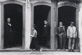 Artwork by Esther Bubley, Brazilian Street Scene, Ouro Preto, 1957, Made of Gelatin silver print